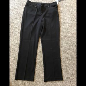 NWT, Jones New York Black Slacks, Size 12